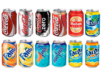 bebidas frias productos