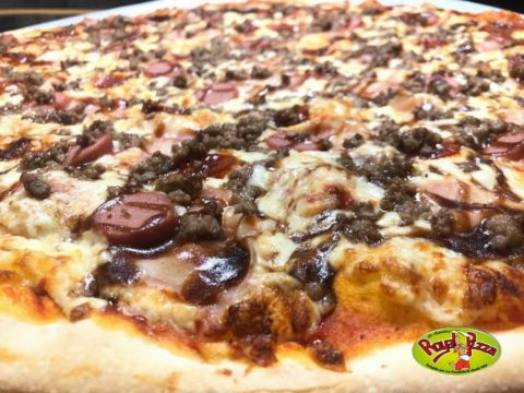 pizza barbacoa de royal pizza mostoles