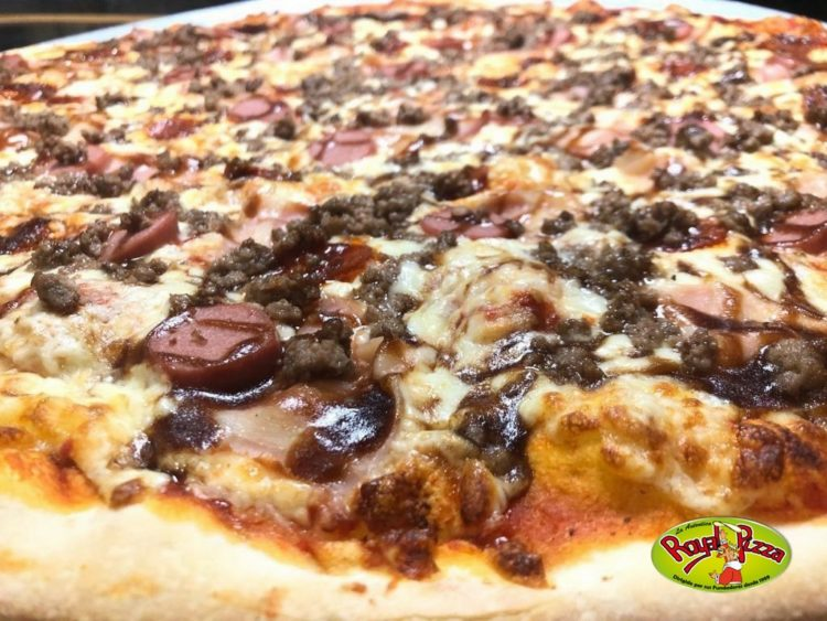pizza barbacoa de royal pizza mostoles