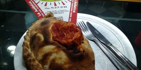 royal pizza mostoles calzone