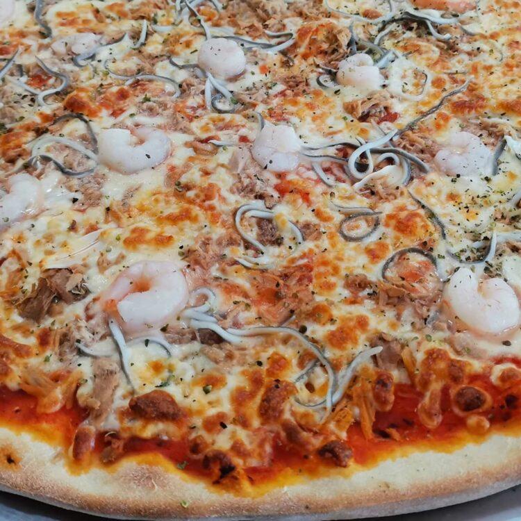 pizza marinera royal pizza mostoles